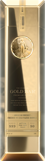 Gold Bar Whiskey Gold Finished 750ml
